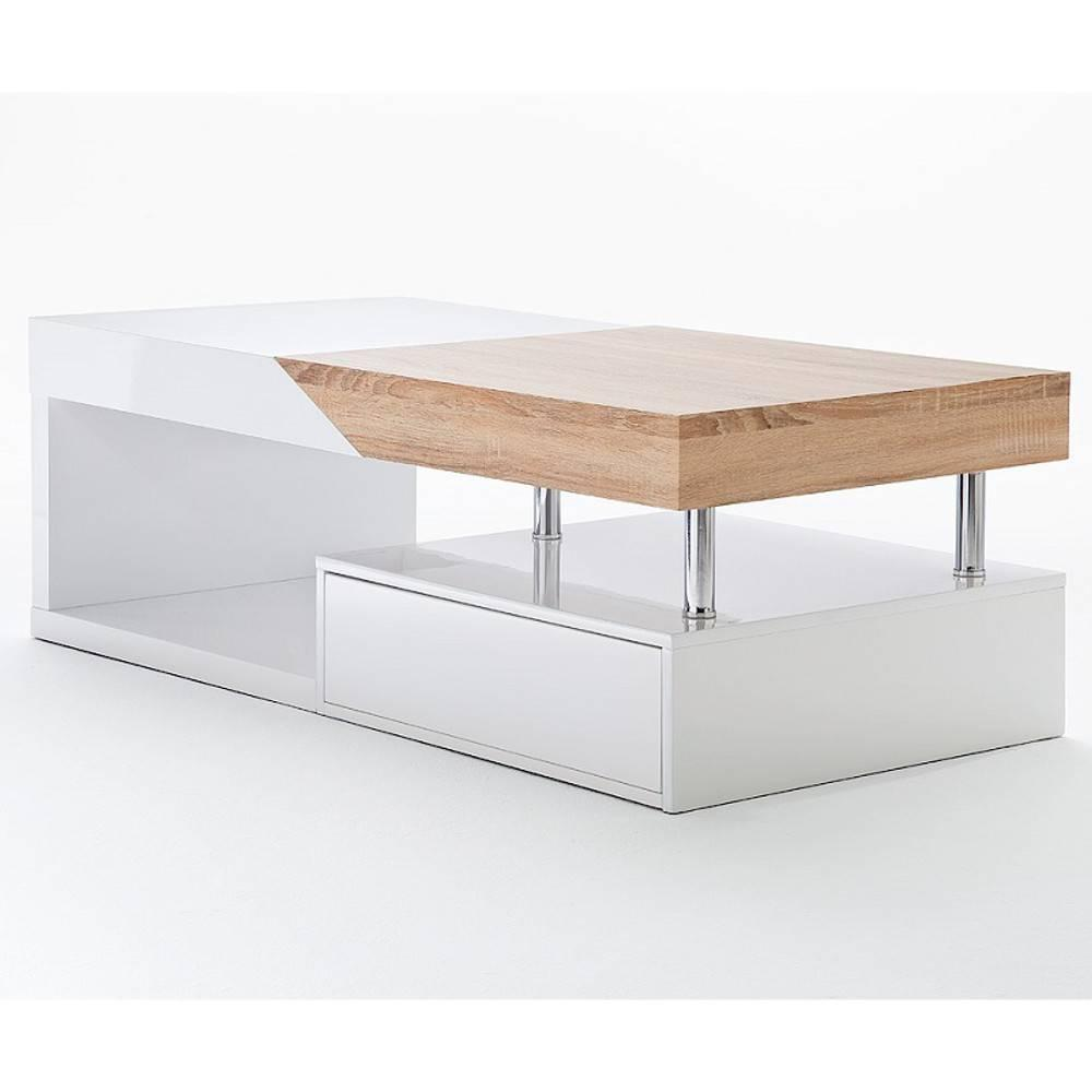 Table basse carr e ronde ou rectangulaire au meilleur for Design sofatisch