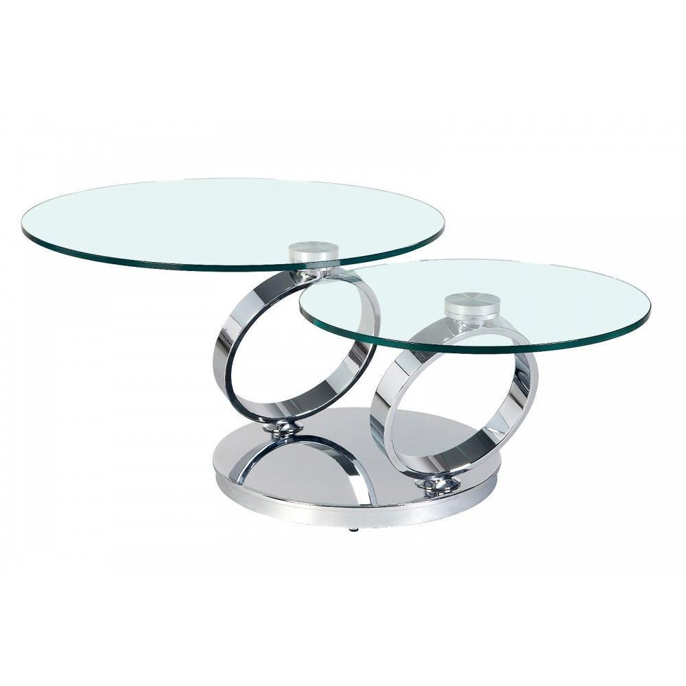 Table Basse Carr E Ronde Ou Rectangulaire Au Meilleur Prix Table Ring Plateaux Pivotants En