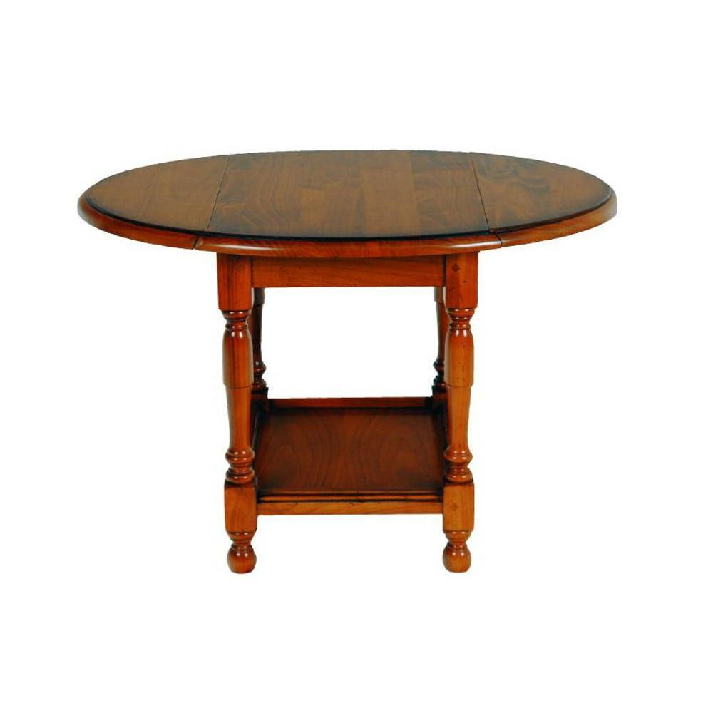 Table basse pliante CARLA en merisier. Une table basse pliante au charme intemporel qui a su rester dans l'air du temps. La table basse CARLA apporter