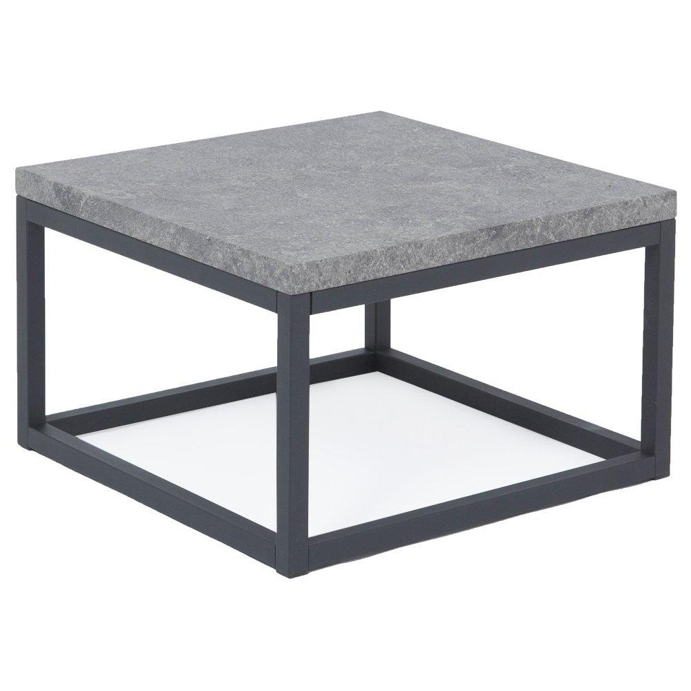 Lot de 2 tables basses ODENSE coloris effet béton