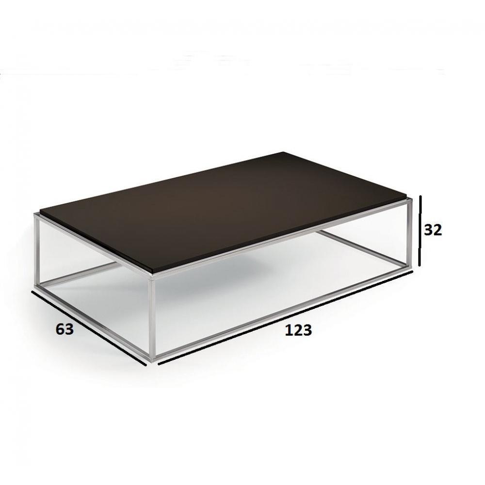 Chaises meubles et rangements table basse rectangle mimi - Table basse rangements ...