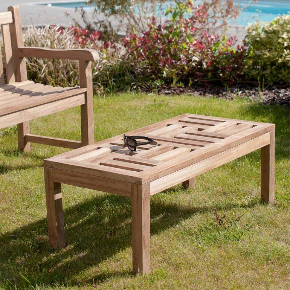 table basse de jardin design au meilleur prix table basse de jardin rectangulaire 100 50 cm fun. Black Bedroom Furniture Sets. Home Design Ideas