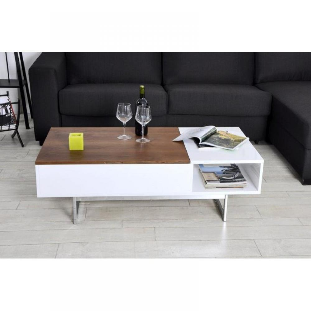 Tables relevables meubles et rangements table basse tagg rehaussable avec c - Table rehaussable but ...