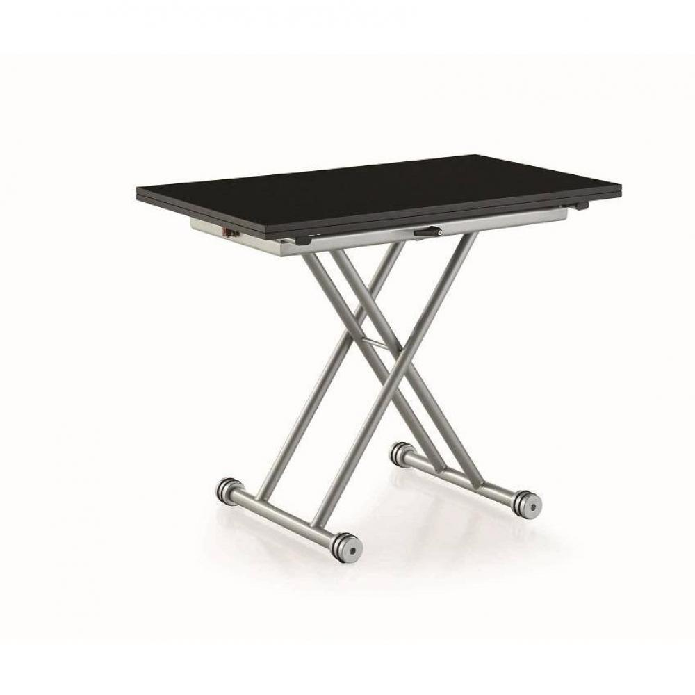 Canap s rapido convertibles design armoires lit for Petite table basse noire