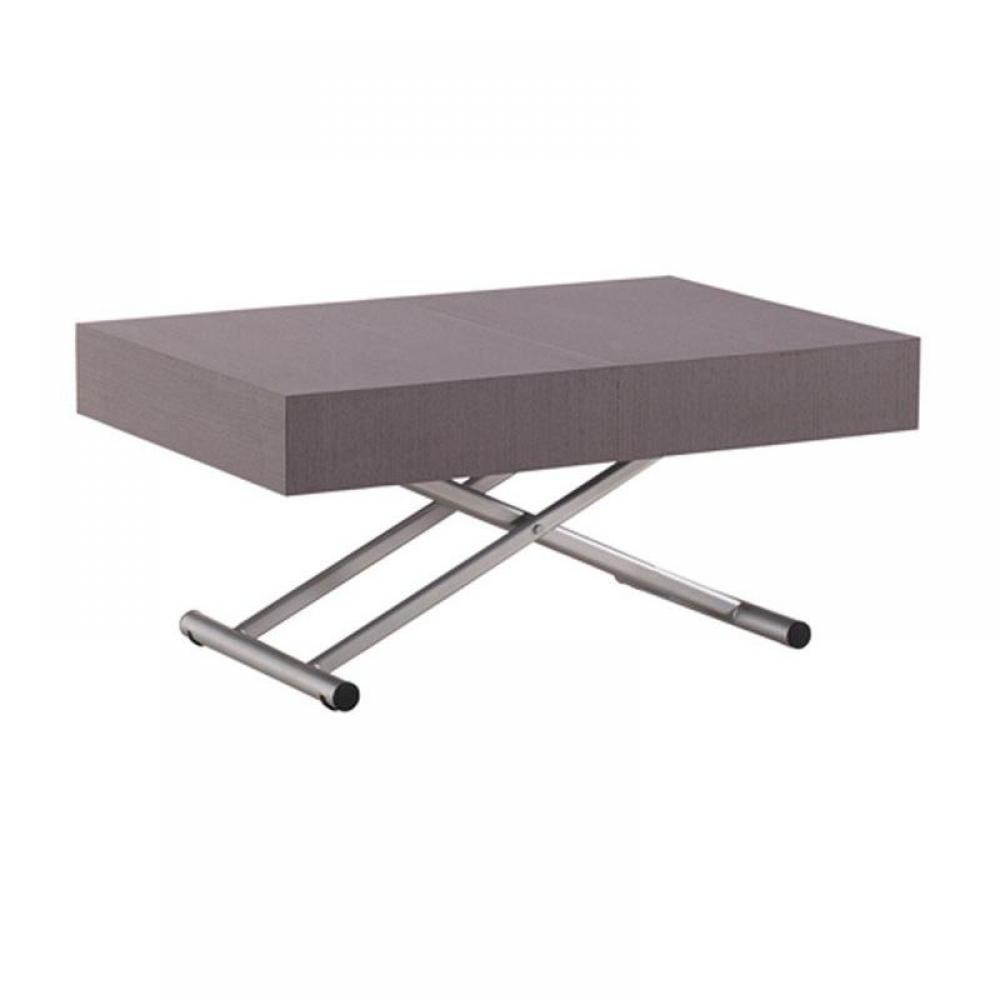 Table basse carr e ronde ou rectangulaire au meilleur - Table extensible et relevable ...