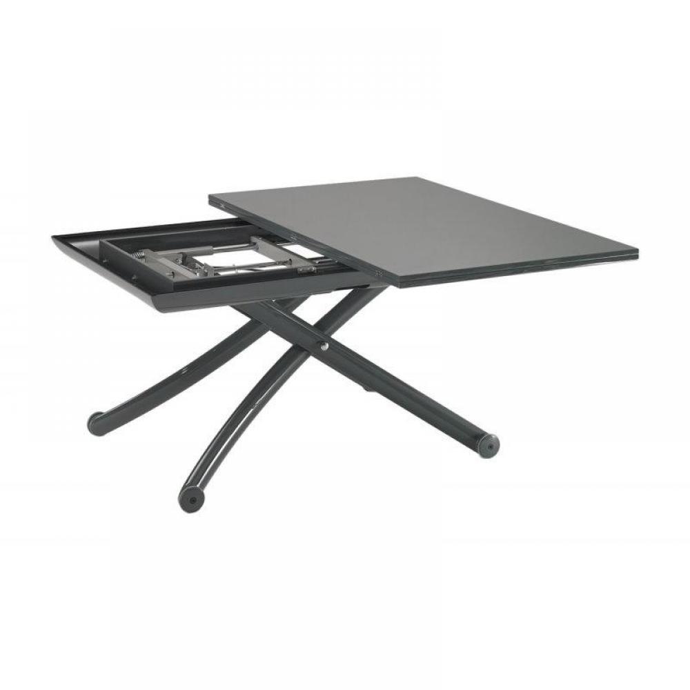 Table basse gris laque maison design - Table basse classique ...