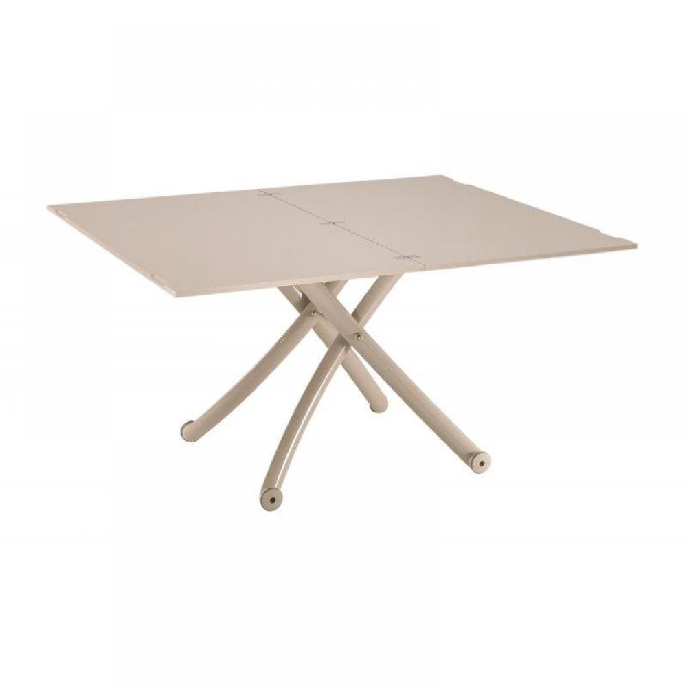 Table relevable design ou classique au meilleur prix - Table basse taupe laque ...
