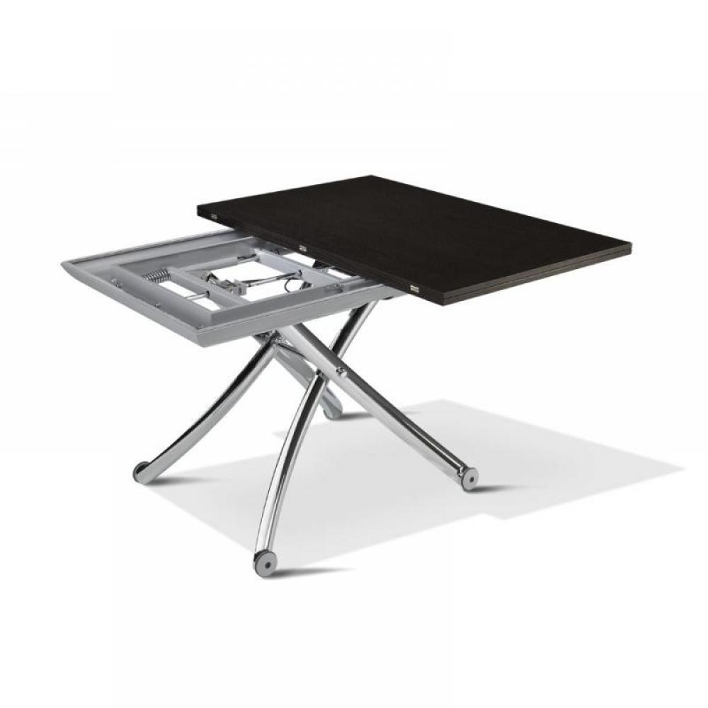 Tables relevables, meubles et rangements, Table basse CLASS relevable extensible, plateau bois  # Table Basse Relevable Extensible Bois