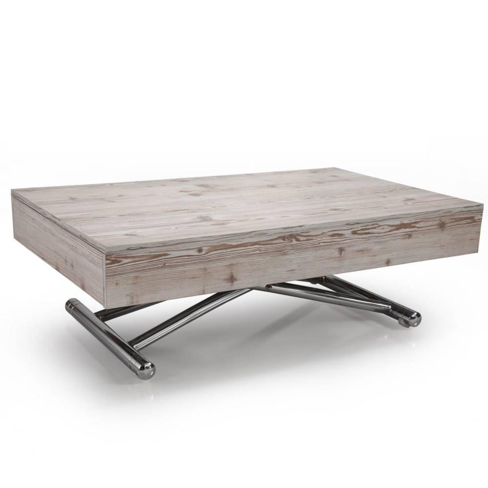 Table basse carr e ronde ou rectangulaire au meilleur for Table de salon relevable