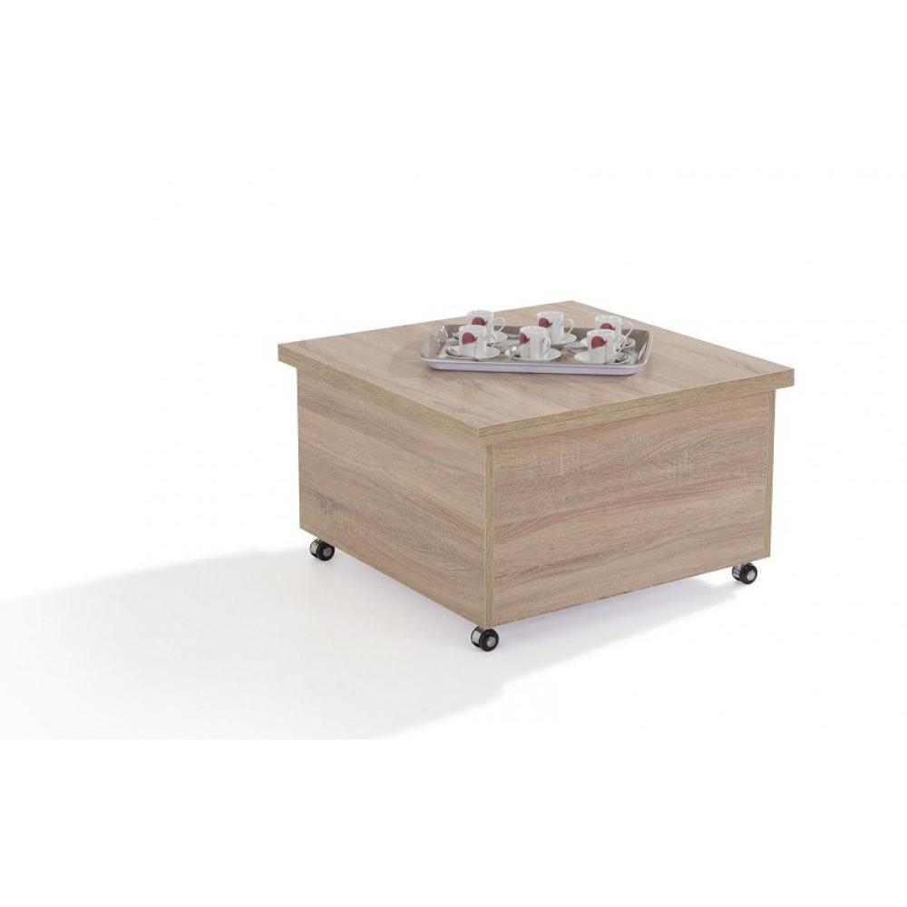 table basse relevable extensible giani chene 93 30 Beau Table Basse Relevable Extensible Iqt4