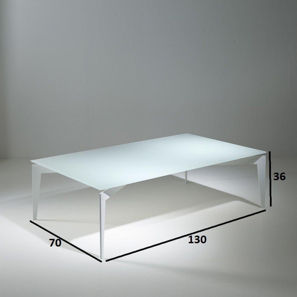 Canap s rapido convertibles design armoires lit - Table basse verre blanc ...