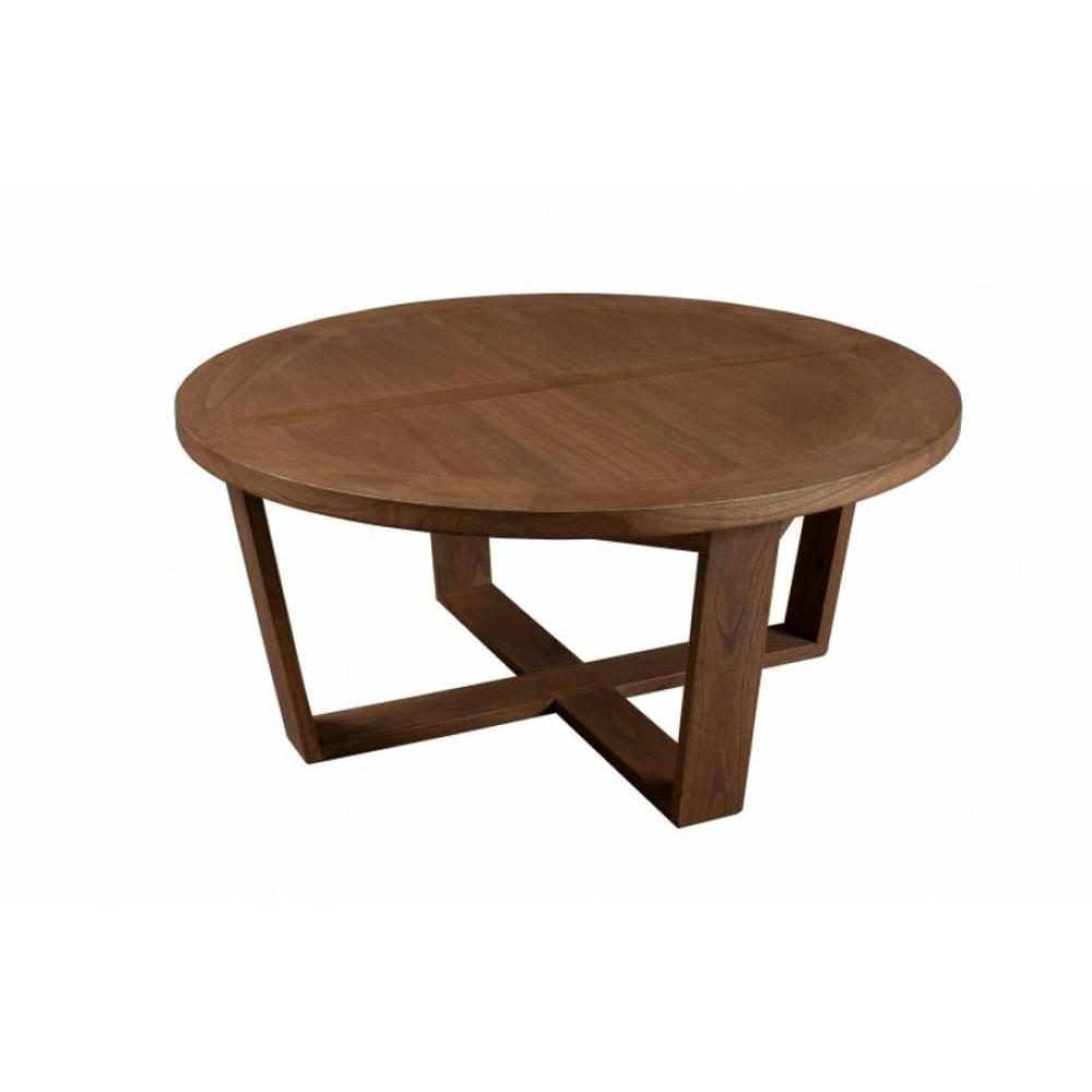 Table basse carr e ronde ou rectangulaire au meilleur prix table basse rond - Tables basses rondes en bois ...