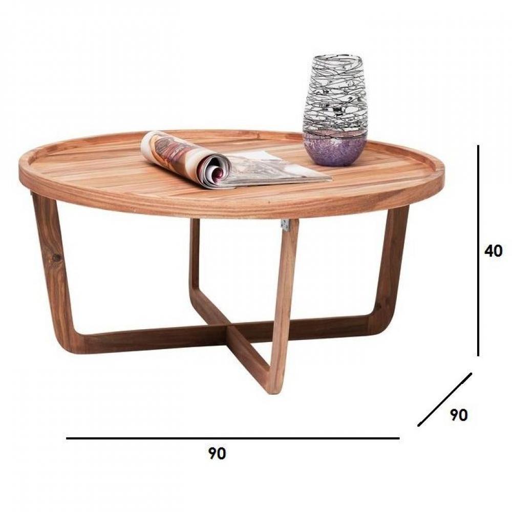 Table basse carr e ronde ou rectangulaire au meilleur for Table basse ronde bois