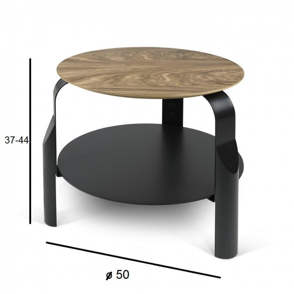 table basse carr e ronde ou rectangulaire au meilleur prix temahome table basse reglable scale. Black Bedroom Furniture Sets. Home Design Ideas