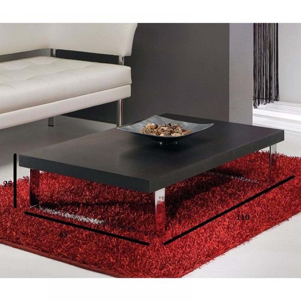 Table basse carr e ronde ou rectangulaire au meilleur prix table basse metropolis design weng - Table basse ronde wenge ...