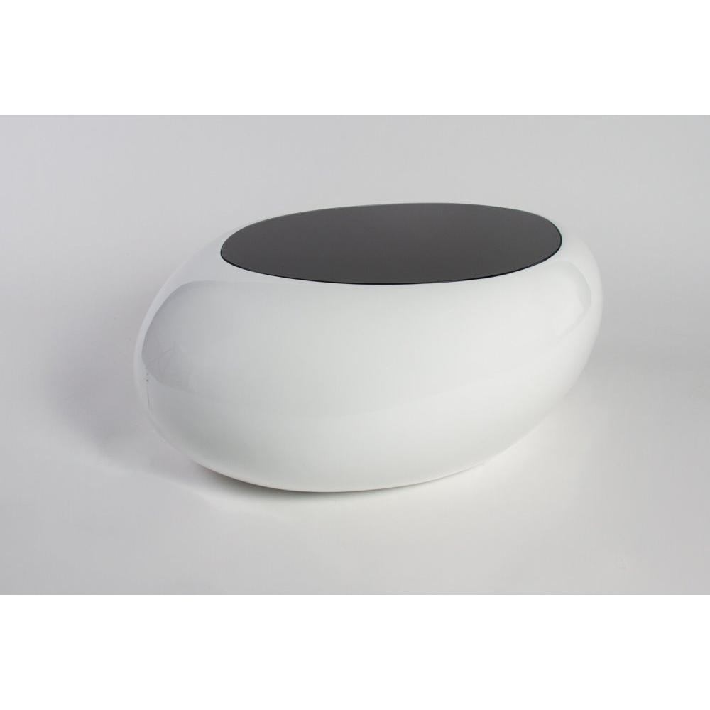 Table Basse Carr E Ronde Ou Rectangulaire Au Meilleur Prix Table  # Table Basse Blanc Avec Lampe Led