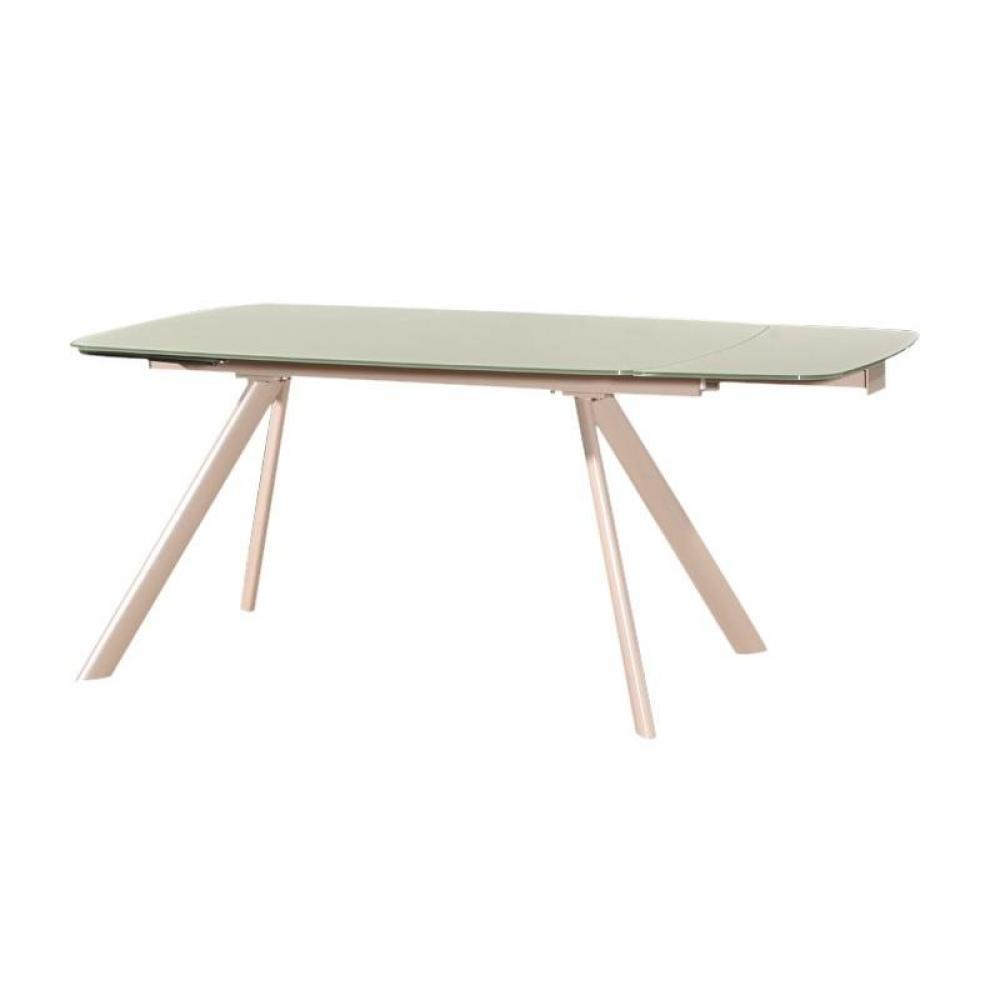 Table de repas design au meilleur prix table repas extensible design oscar b - Table extensible blanc ...