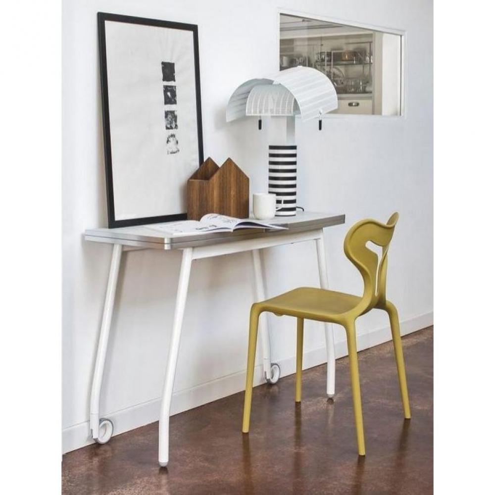 console extensible le gain de place tendance au meilleur prix calligaris table pliante. Black Bedroom Furniture Sets. Home Design Ideas