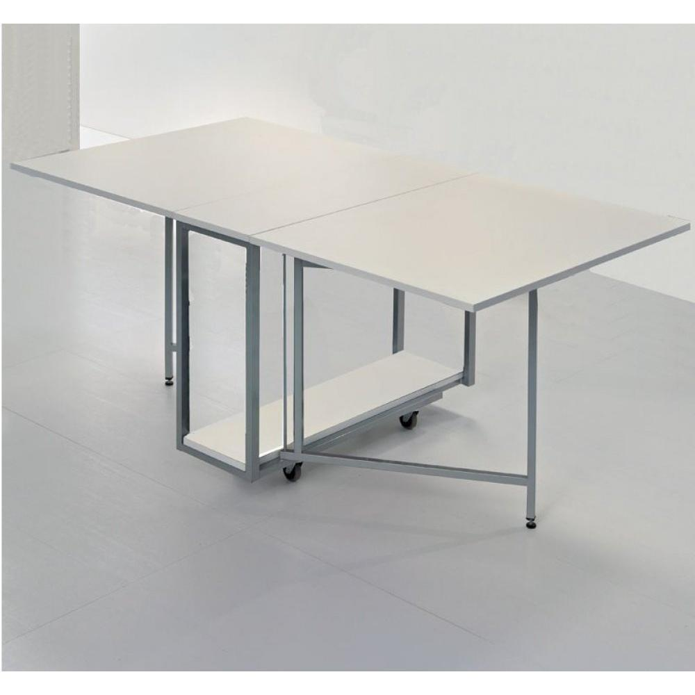 Table de repas design au meilleur prix table pliante for Table design blanche