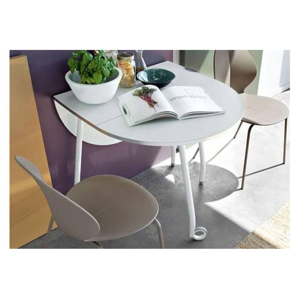consoles extensibles tables et chaises calligaris table pliante modulable blitz blanche avec. Black Bedroom Furniture Sets. Home Design Ideas