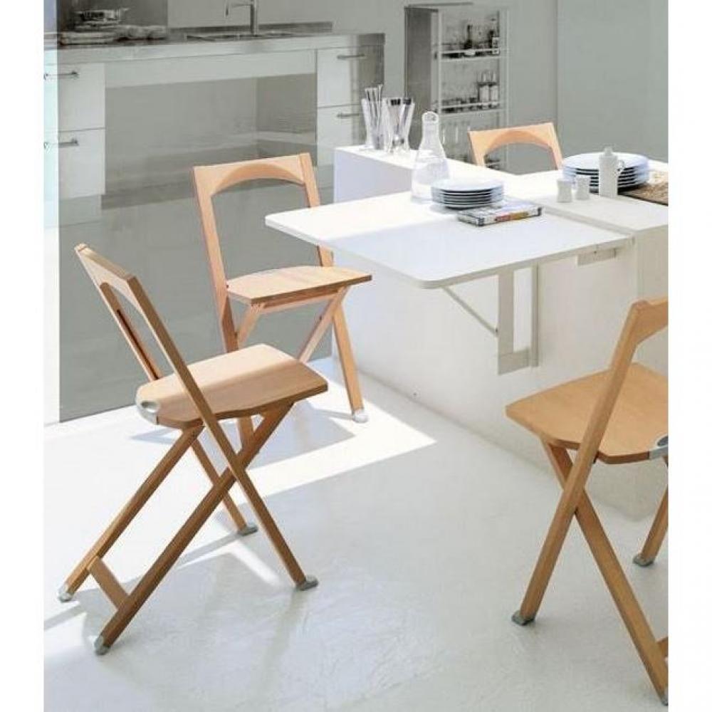 table pliante pratique en bois ou m tal au meilleur prix table pliante quadro blanche inside75. Black Bedroom Furniture Sets. Home Design Ideas
