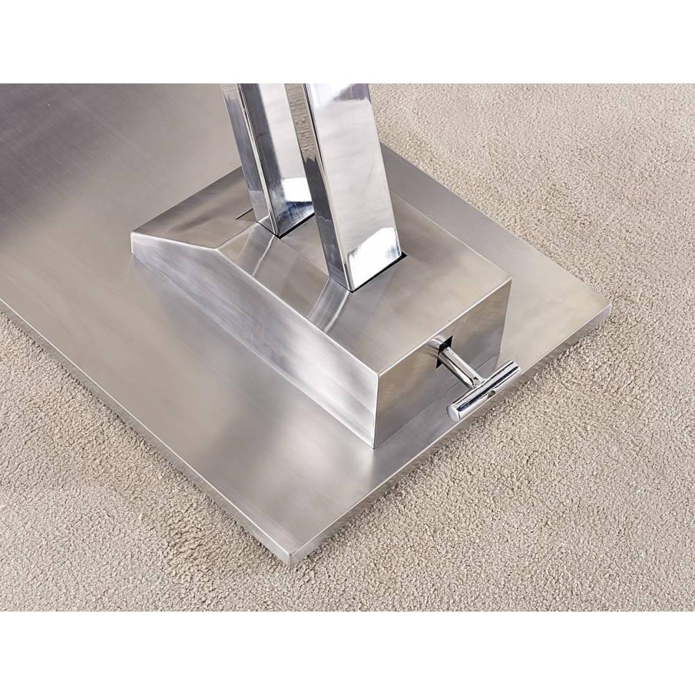 Canap s convertibles ouverture rapido table basse relevable step en verre transparente - Table basse relevable transparente ...