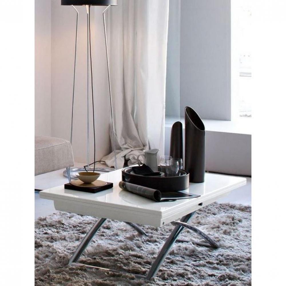 table basse carr e ronde ou rectangulaire au meilleur prix table basse relevable extensible. Black Bedroom Furniture Sets. Home Design Ideas