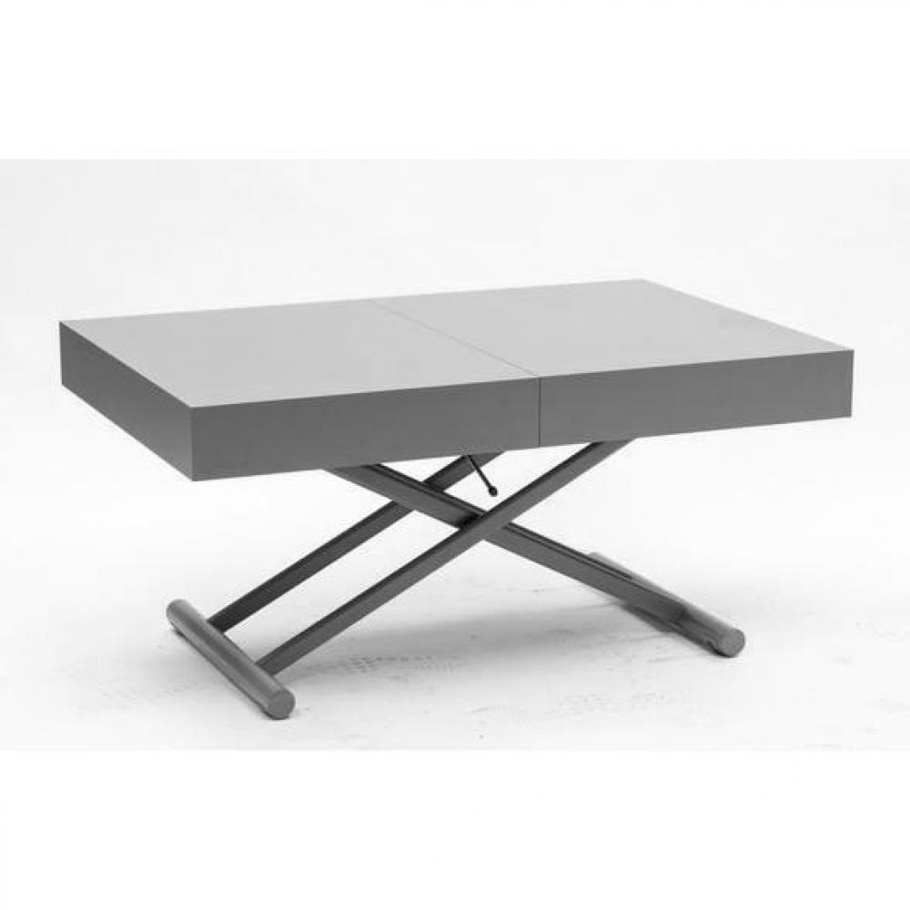 Table relevable design ou classique au meilleur prix table basse relevable extensible block - Table basse relevable wenge ...