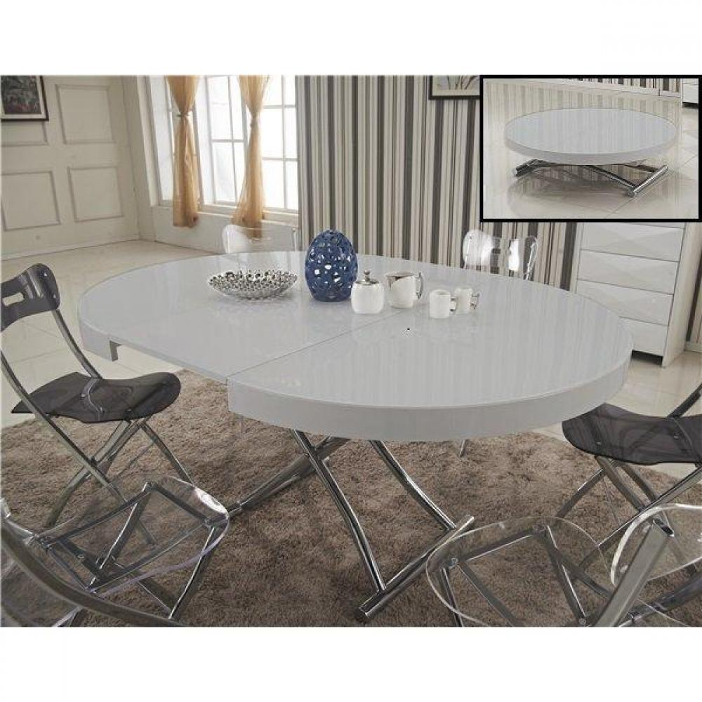 table relevable design ou classique au meilleur prix table basse ronde relevable et extensible. Black Bedroom Furniture Sets. Home Design Ideas