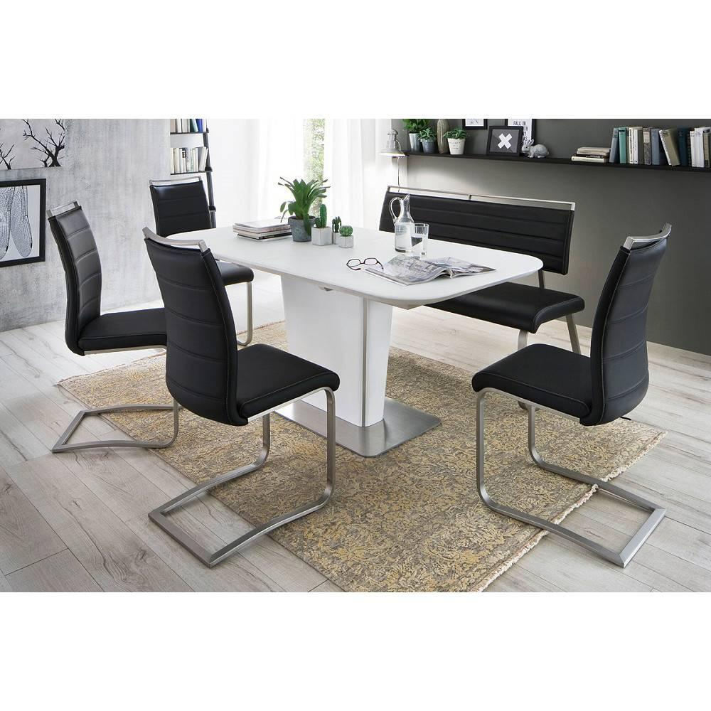 table de repas design au meilleur prix table repas extensible design uma 180cm taupe inside75. Black Bedroom Furniture Sets. Home Design Ideas