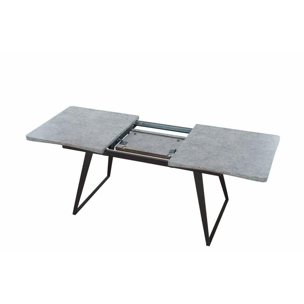 Tables design au meilleur prix table repas design for Table extensible effet beton