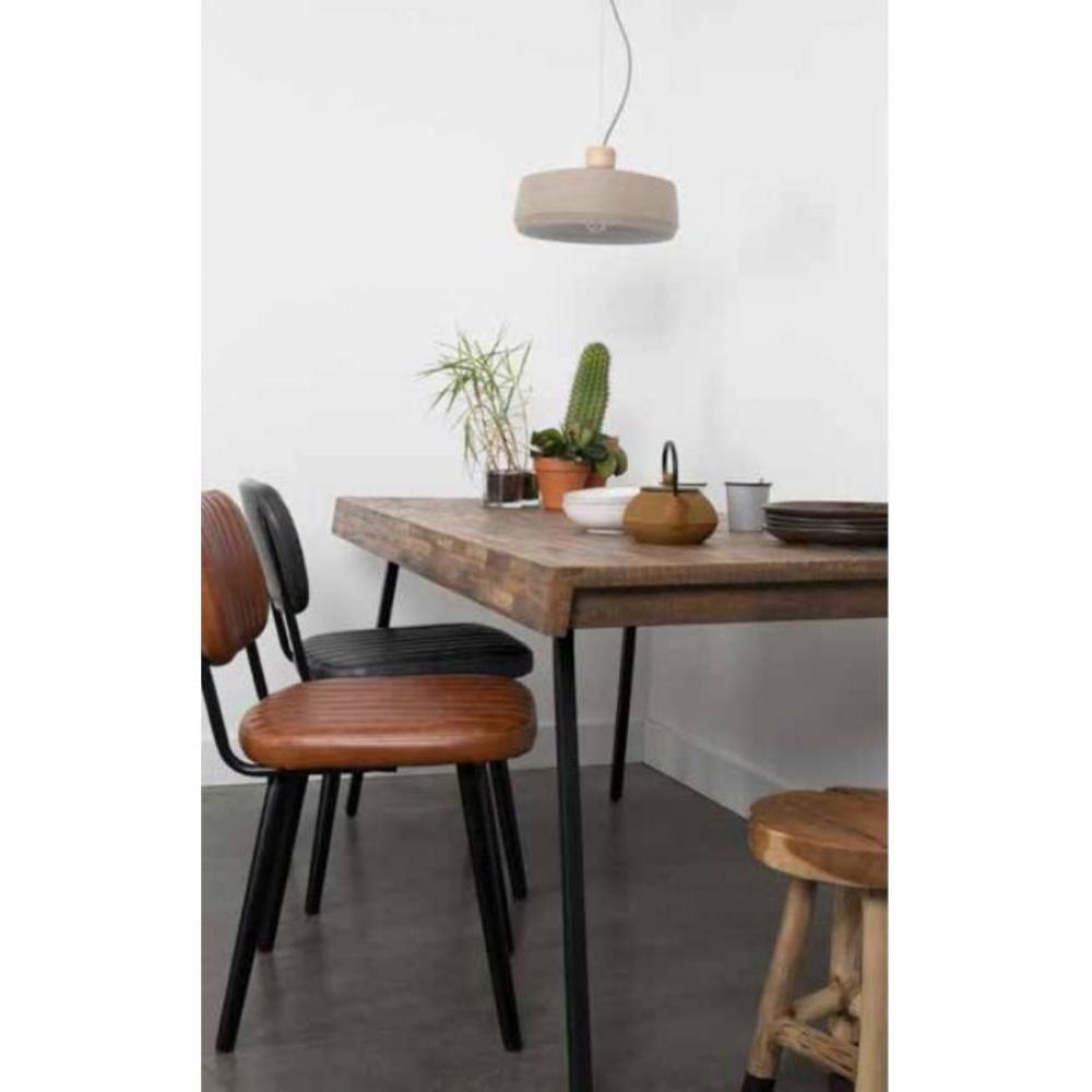 Table de repas design au meilleur prix inside75 for Table repas style industriel