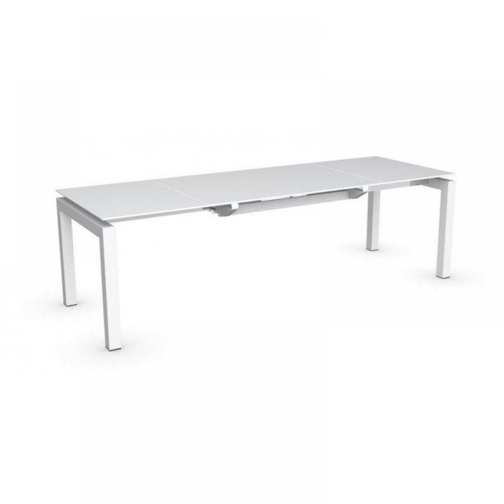 Table plateau ceramique extensible calligaris table for Plateau table extensible