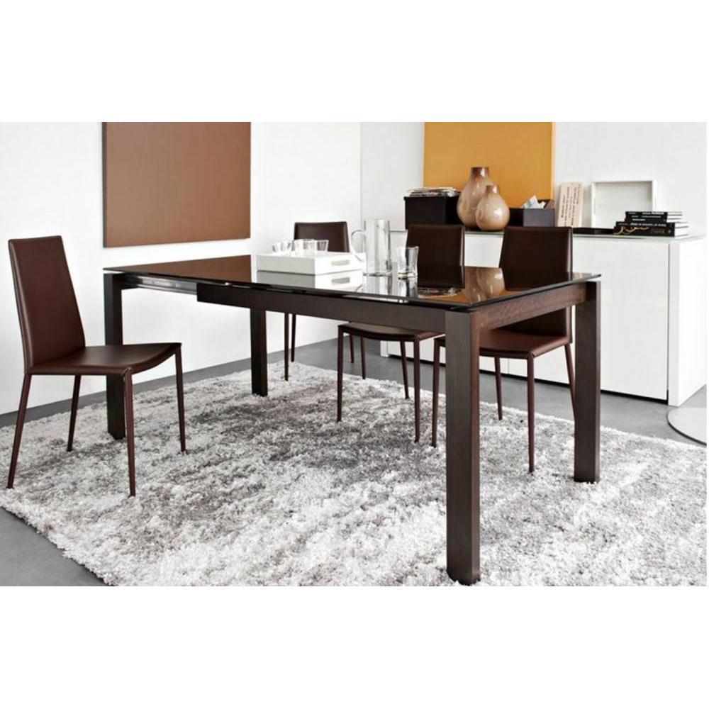Tables design au meilleur prix table repas extensible - Table extensible wenge ...
