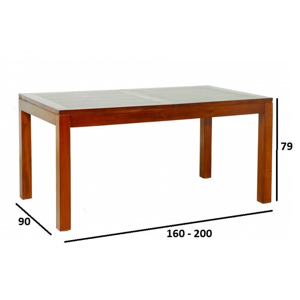 Table de repas design au meilleur prix table repas lauren for Table repas extensible design