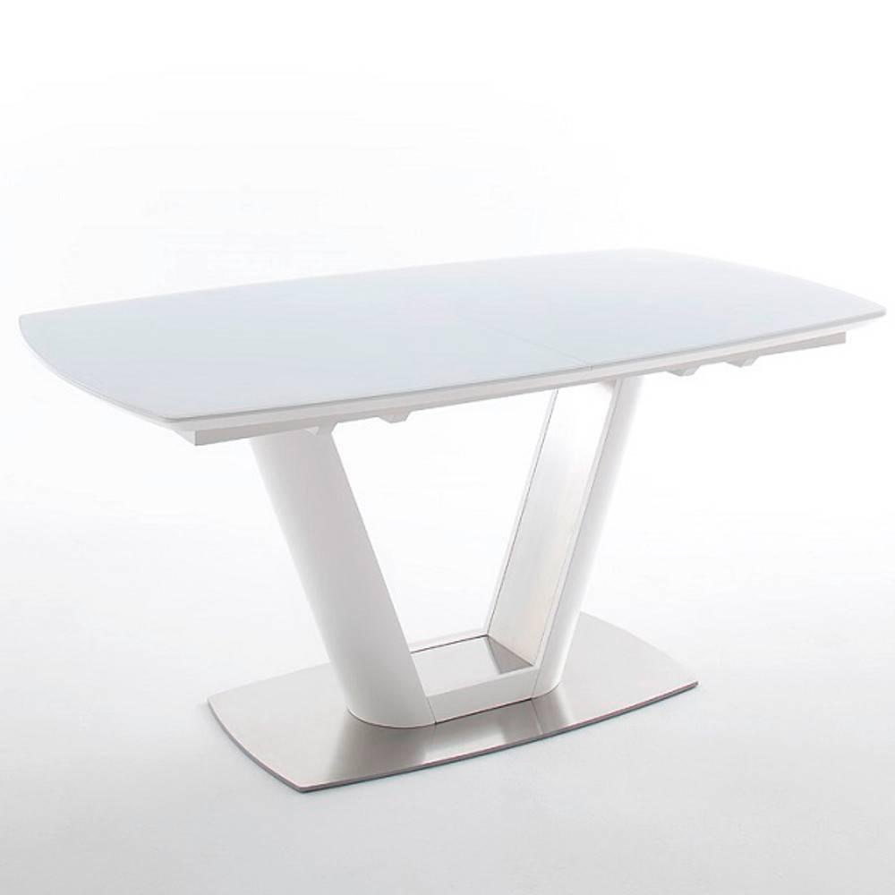 Tables design au meilleur prix table repas extensible for Table design blanche