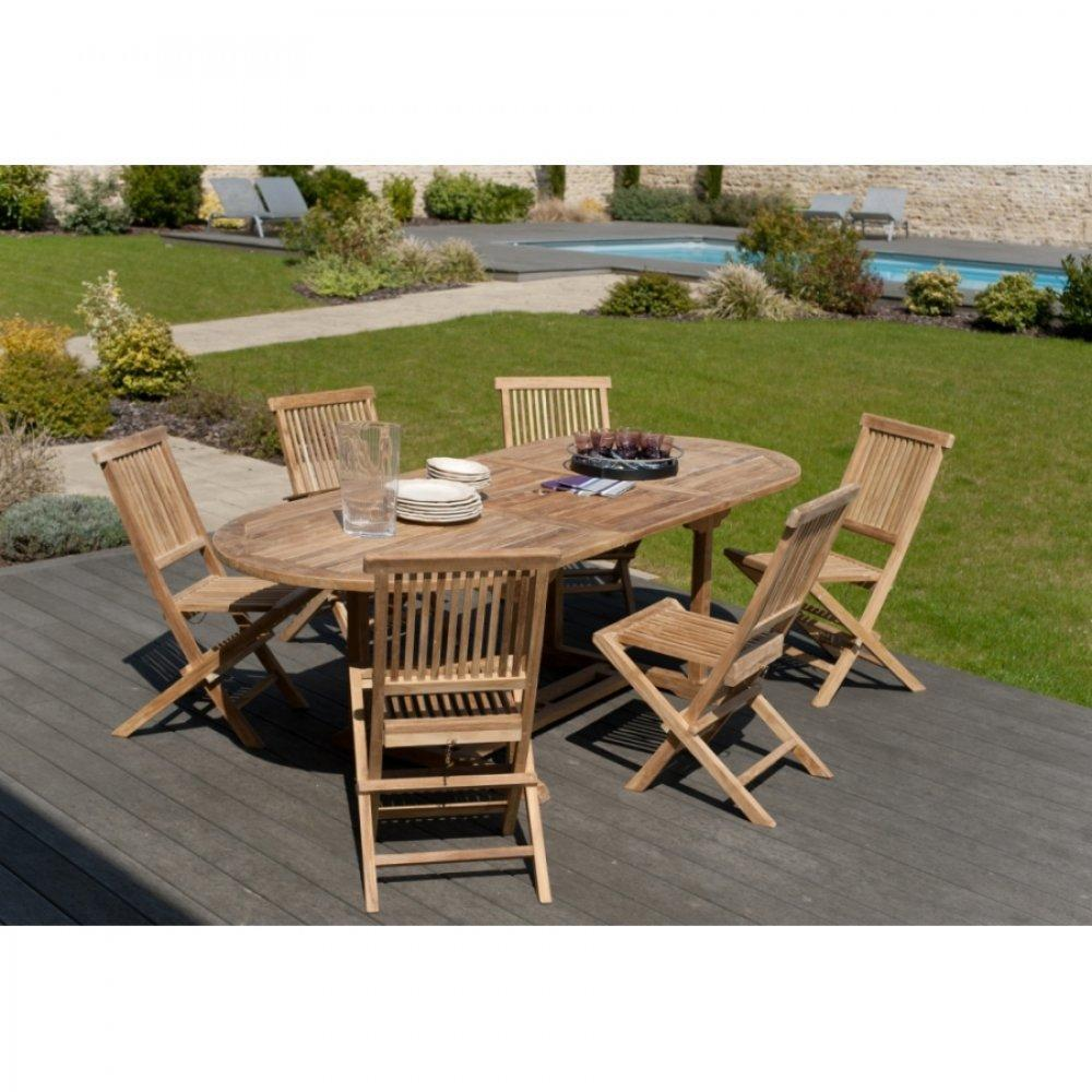 Table de jardin pour terrasse ou balcon au meilleur prix - Table de jardin ovale extensible fort de france ...