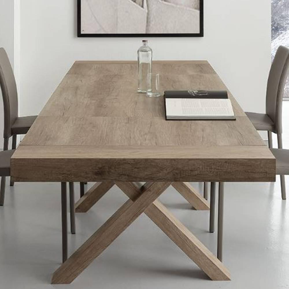 table de repas design au meilleur prix table repas extensible galileo ch ne inside75. Black Bedroom Furniture Sets. Home Design Ideas