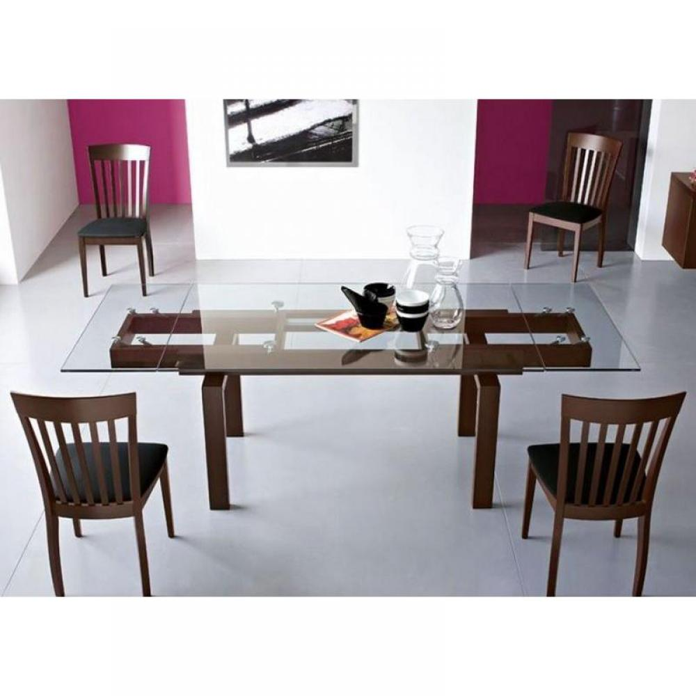 Tables design au meilleur prix calligaris table repas for Table sejour verre extensible