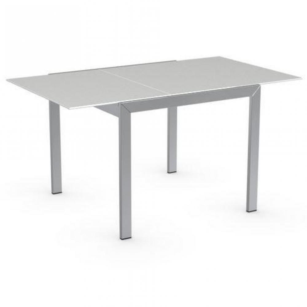 Divani letto sistema rapido armadi letto e comodini for Tavolo vetro bianco calligaris