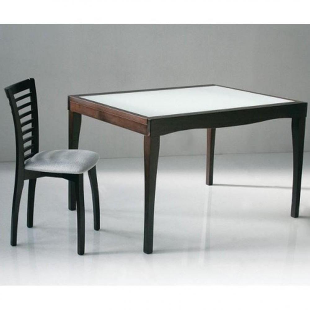Table de repas design au meilleur prix table repas - Table wenge verre ...