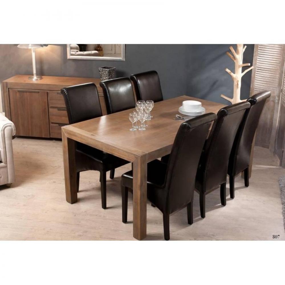Table Repas Extensible Nina 180230 X 100 Cm En Acacia