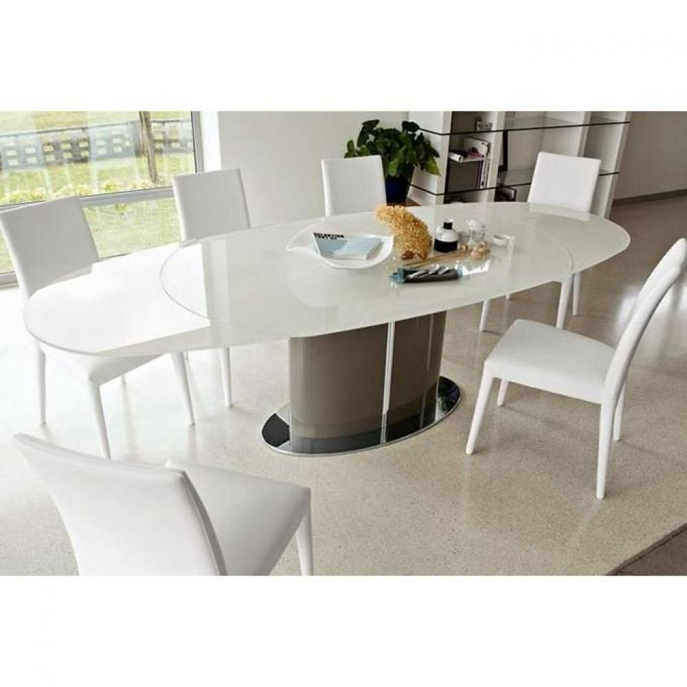 Tables design au meilleur prix table repas ovale - Table ovale extensible design ...