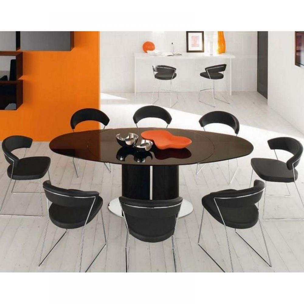 table de repas design au meilleur prix table repas ovale. Black Bedroom Furniture Sets. Home Design Ideas