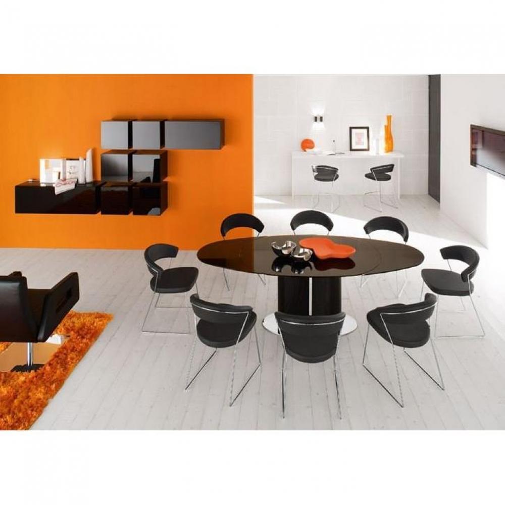 table de repas design au meilleur prix table repas ovale extensible odyssey de calligaris. Black Bedroom Furniture Sets. Home Design Ideas