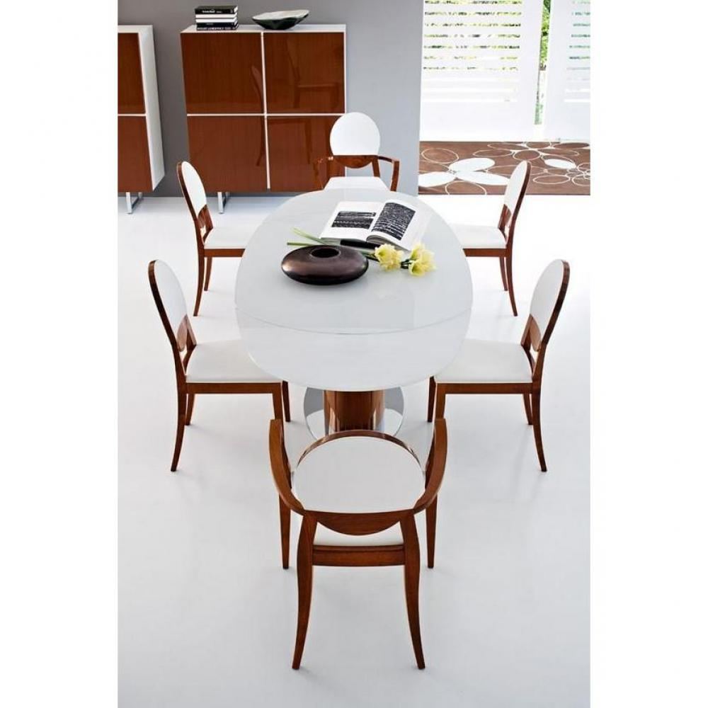 table de repas design au meilleur prix table repas ovale extensible odyssey de calligaris. Black Bedroom Furniture Sets. Home Design Ideas