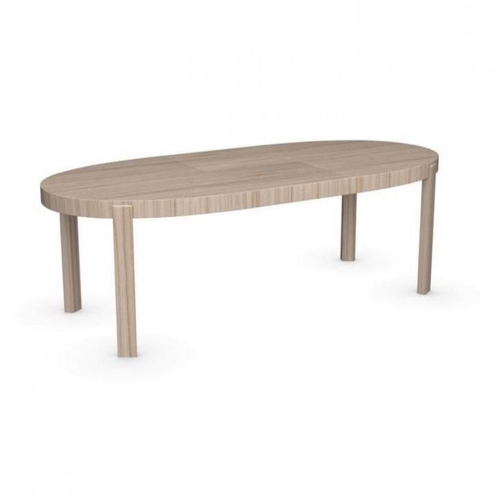 tables design au meilleur prix table repas extensible ovale atelier 170x100 en bois naturel. Black Bedroom Furniture Sets. Home Design Ideas