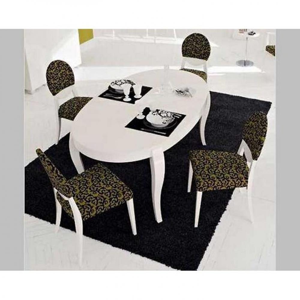 table de repas design au meilleur prix table repas extensible ovale regency de calligaris. Black Bedroom Furniture Sets. Home Design Ideas