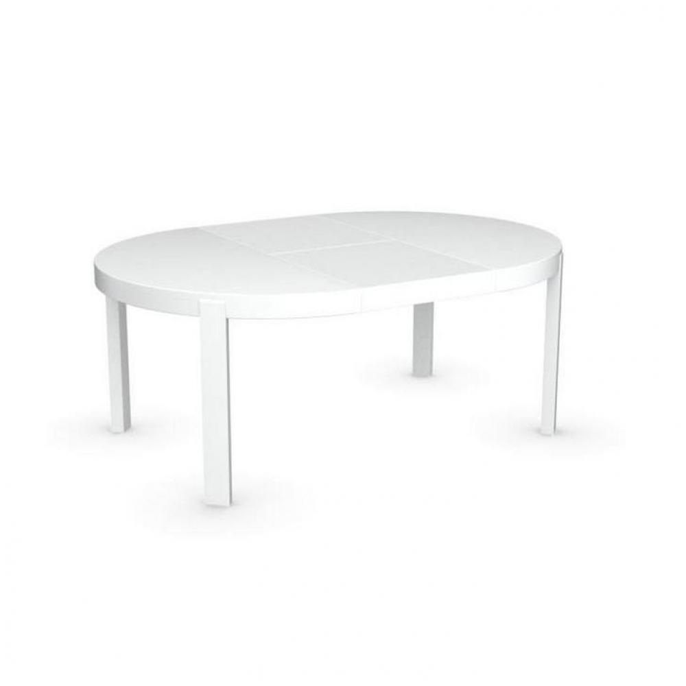 Fabulous amazing table ronde extensible blanche table for Table ronde a rallonge blanche