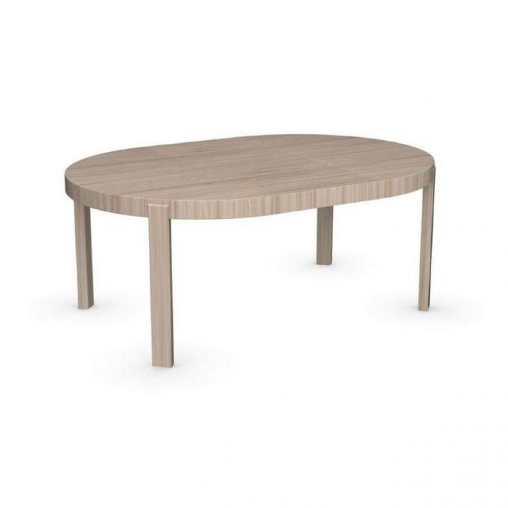 table de repas design au meilleur prix table repas extensible ronde atelier 130x130 en bois. Black Bedroom Furniture Sets. Home Design Ideas